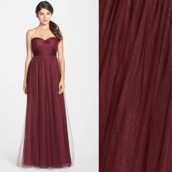 f7fc3e2c521 JENNY YOO Annabelle Convertible Tulle Column Dress